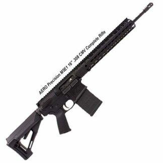 """AERO Precision M5E1 16"""" .308 CMV Complete Rifle 12"""" Quad Rail, APCR308024, 00840014604739, in Stock, for Sale"""