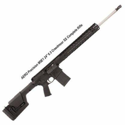 """AERO Precision M5E1 24"""" 6.5 Creedmoor SS Complete Rifle, 15"""" Quad Rail, APCR650025, 00840014605330, in Stock, For Sale"""