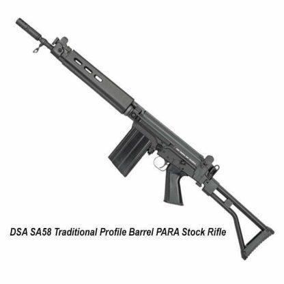DSA SA58 Traditional Profile Barrel PARA Stock Rifle, in Stock, for Sale