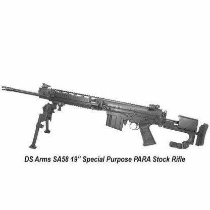 "DS Arms SA58 19"" Special Purpose PARA Stock Rifle"