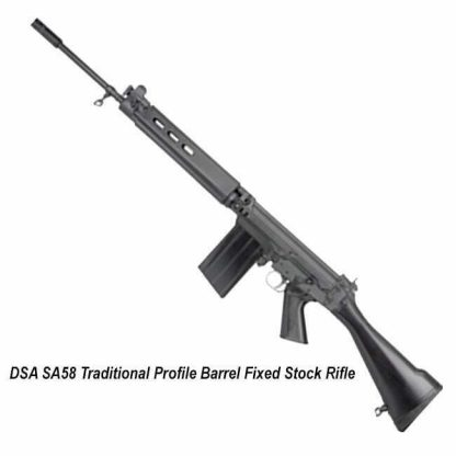 DSA SA58 Traditional Profile Barrel Fixed Stock Rifle, in Stock, for Sale