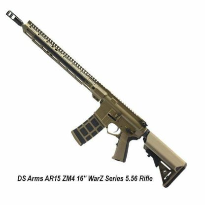 """DS Arms AR15 ZM4 16"""" WarZ Series 5.56 Rifle, Flat Dark Earth, ZM4RCR-16WARZ-A, in Stock, For Sale"""