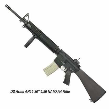 """DS Arms AR15 20"""" 5.56 NATO A4 Rifle, ZM4RCR20-SSA4-A, in Stock, for Sale"""
