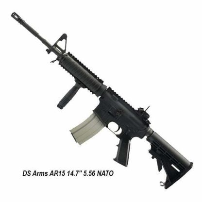 """DS Arms AR15 14.7"""" 5.56 NATO, Block 1 Carbine, Knight's Armament Upgrades, ZM4RCR147-SSB1-A, in Stock, for Sale"""