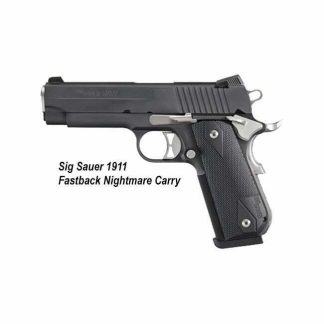 Sig Sauer 1911 Fastback Nightmare Carry, 1911FCA-45-NMR, 798681436170, in Stock, for Sale