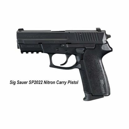 Sig Sauer SP2022 Nitron Carry Pistol, E2022-9-BSS, 798681306701, in Stock, for Sale