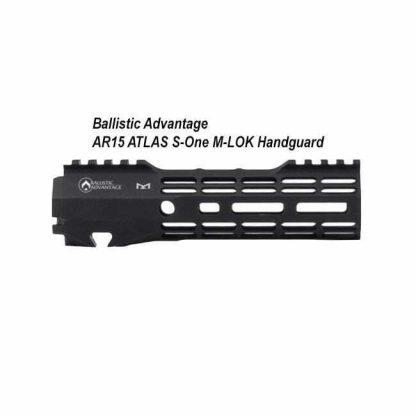 Ballistic Advantage AR15 ATLAS S-One M-LOK Handguard, in Stock, for Sale