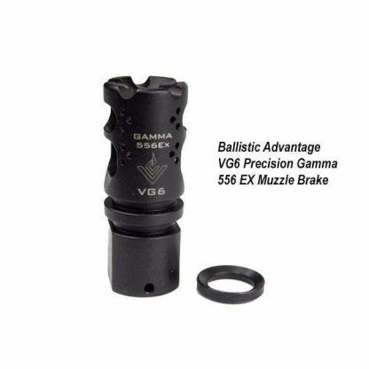 Ballistic Advantage VG6 Precision Gamma 556 EX Muzzle Brake, BAMD100002, in Stock, for Sale