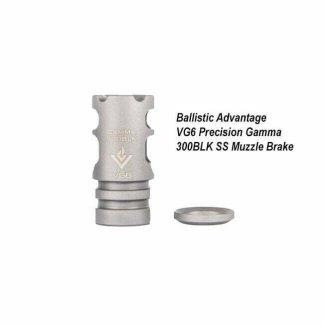 Ballistic Advantage VG6 Precision Gamma 300BLK SS Muzzle Brake, BAMD100015, in Stock, for Sale