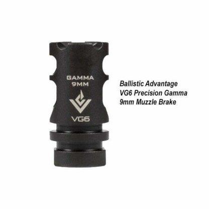 Ballistic Advantage VG6 Precision Gamma 9mm Muzzle Brake, BAMD100021, in Stock, for Sale