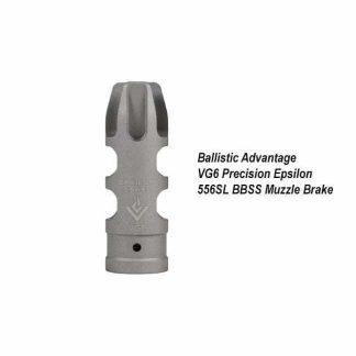 Ballistic Advantage VG6 Precision Epsilon 556SL SS Muzzle Brake, BAMD100024, in Stock, for Sale