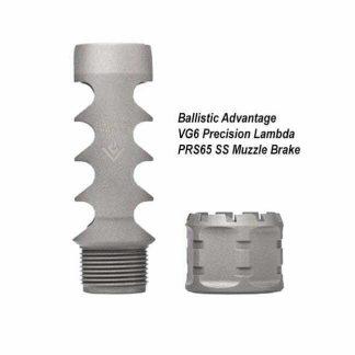 Ballistic Advantage VG6 Precision Lambda PRS65 SS Muzzle Brake, BAMD100030, in Stock, for Sale