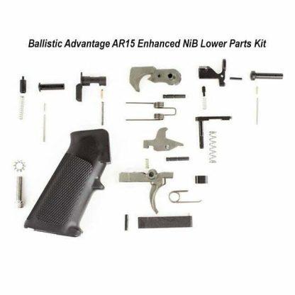 Ballistic Advantage AR15 Enhanced NiB Lower Parts Kit, BAPA100050, 819747027818, in Stock, for Sale