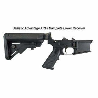 Ballistic Advantage AR15 Complete Lower Receiver, BAPA100052, in Stock, for Sale