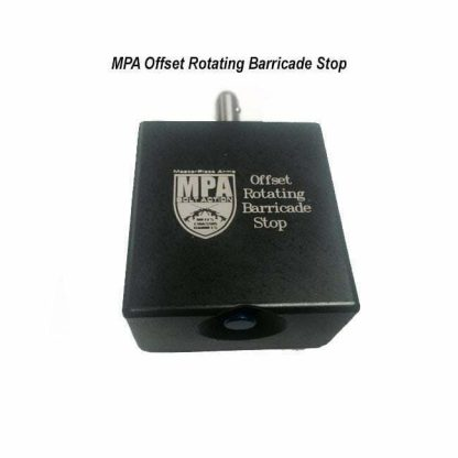 MPA Offset Rotating Barricade Stop, OffsetBarricadeStop, in Stock, for Sale