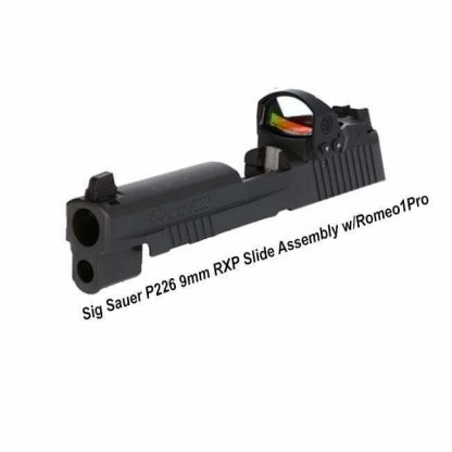 Sig Sauer P226 9mm RXP Slide Assembly w/Romeo1Pro, 8900312, 798681635405, in Stock, for Sale