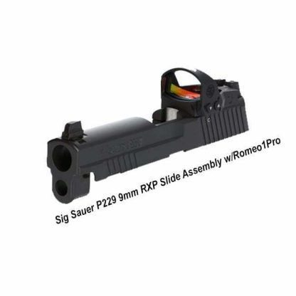 Sig Sauer P229 9mm RXP Slide Assembly w/Romeo1Pro, 8900313, 798681635412, in Stock, for Sale