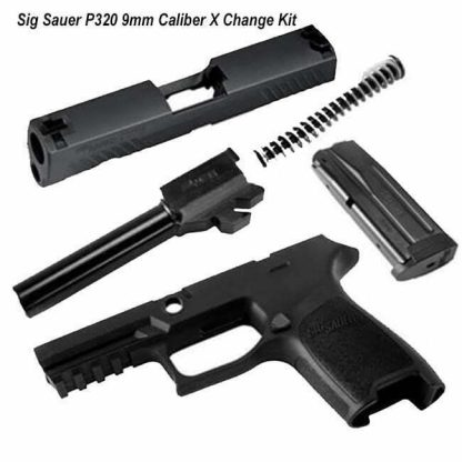 Sig Sauer P320 9mm Caliber X Change Kit, in Stock, for Sale