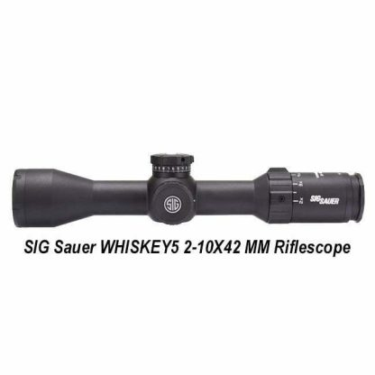 SIG Sauer WHISKEY5 2-10X42 MM, SOW52017, in Stock, for Sale