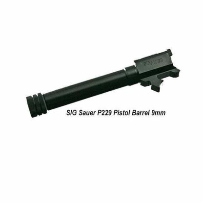 SIG Sauer P229/P228 9mm Threaded Pistol Barrel, BBL-119-9-T, 798681412723, in Stock, for Sale