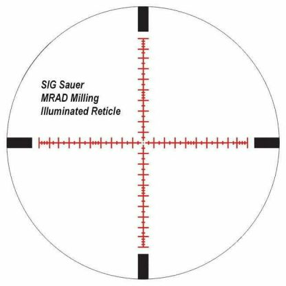 SIG Sauer MRAD Milling Reticle