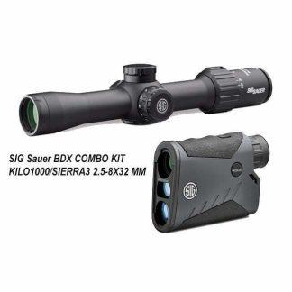 SIG Sauer BDX COMBO KIT - KILO1000/SIERRA3 2.5-8X32 MM, SOK10BDX01, 798681607969, in Stock, for Sale
