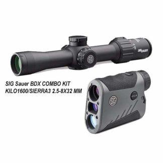 SIG Sauer BDX COMBO KIT - KILO1000/SIERRA3 2.5-8X32 MM, SOK16BDX01, 798681617975, in Stock, for Sale