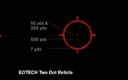 EOTECH 2 Dot Reticle