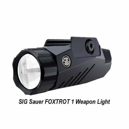 SIG Sauer FOXTROT 1 Weapon Light, SOF11001, 798681552054, in Stock, on Sale