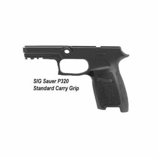 SIG Sauer P320 Standard Carry Grip, Small Grip, GRIP-MOD-CA-943-SM-BLK, 798681550982, Stock, for Sale