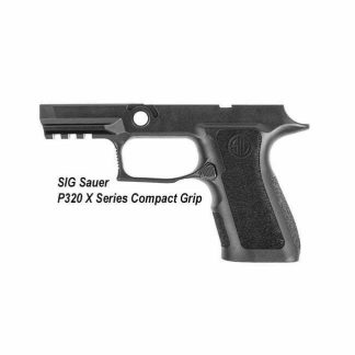 SIG Sauer P320 X Series Compact Grip, Small Grip, GRIP-MODX-C-943-SM-BLK, 798681607242, in Stock, for Sale
