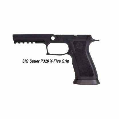 SIG Sauer P320 X-Five Grip, GRIP-X5-F943-M-BLK, 798681583546, in Stock, for Sale