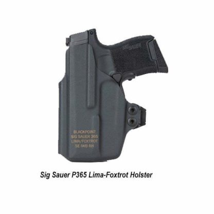 Sig Sauer P365 Lima-Foxtrot Holster, HOL-365-FL-APX-RH, 191107111598, in Stock, on Sale