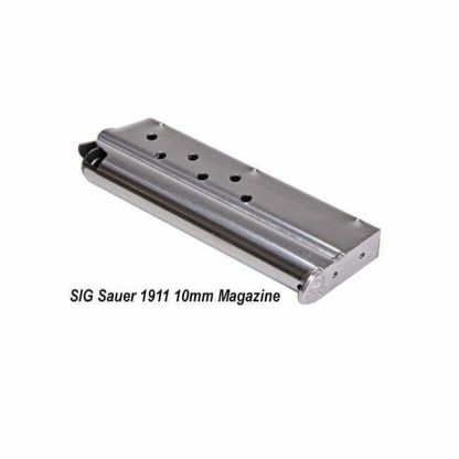 SIG Sauer 1911 10mm Magazine, Stainless Steel, MAG-1911-10-8, 798681565016, in Stock, on Sale