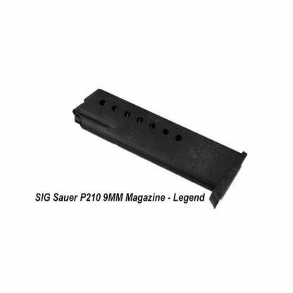 SIG Sauer P210 9MM Magazine - Legend, MAG-210-9-8-LG, 798681430291, in Stock, on Sale