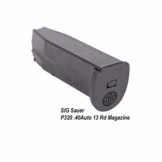 SIG Sauer P320 .40Auto 13 Rd Magazine, MAG-MOD-C-43-13, 798681505128, in Stock, on Sale