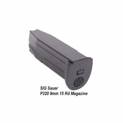 SIG Sauer P320 9mm 15 Rd Magazine, MAG-MOD-C-9-15, 798681505074, in Stock, on Sale