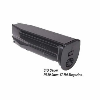 SIG Sauer P320 9mm 17 Rd Magazine, Black, MAG-MOD-F-9-17, 798681505098, in Stock, on Sale