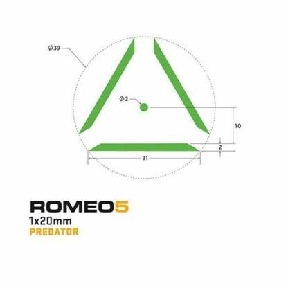 SIG Sauer ROMEO5, Predator Green Reticle