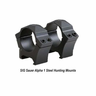 SIG Sauer Alpha 1 Steel Hunting Mounts, in Stock, for Sale