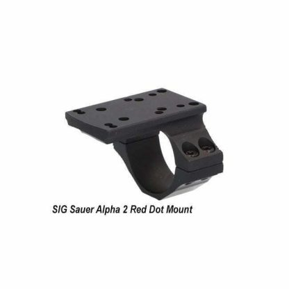 SIG Sauer Alpha 2 Red Dot Mount, SOA20011, 798681617173, in Stock, for Sale