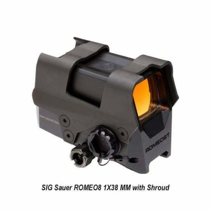 SIG Sauer ROMEO8 1X38 MM with Shroud, SOR81002, 798681590643, in Stock, for Sale