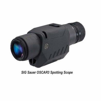 SIG Sauer OSCAR3 Spotting Scope, Graphite, SOV31001, 798681521517, in Stock, for Sale