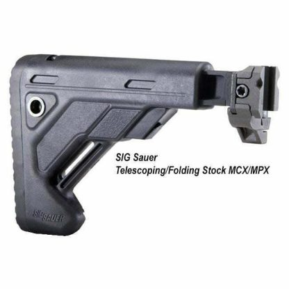 SIG Sauer Telescoping/Folding Stock MCX/MPX, STOCK-S-FOLD-TELE-BLK, 798681544004, in Stock, for Sale