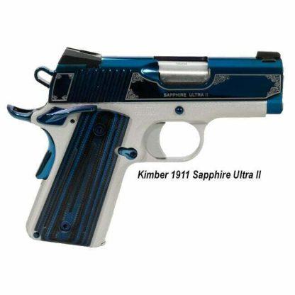 Kimber 1911 Sapphire Ultra II, in Stock, on Sale