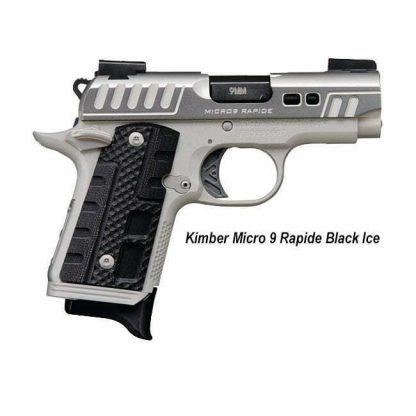 Kimber Micro 9 Rapide Black Ice, 3300223, 669278332239, in Stock, on Sale