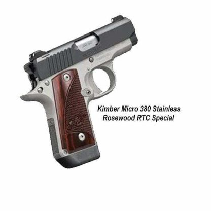Kimber Micro 380 Stainless Rosewood RTC Special, 3700677, 669278376776, in Stock, on Sale